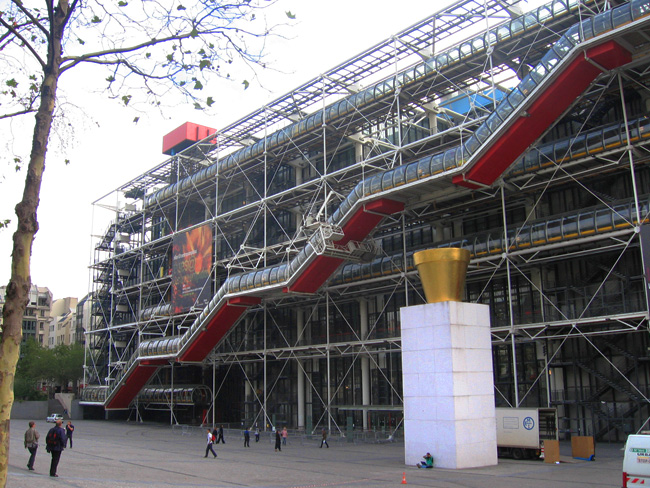 The Centre Pompidou