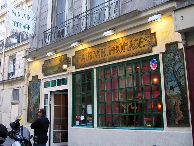 Restaurant Angevin Paris