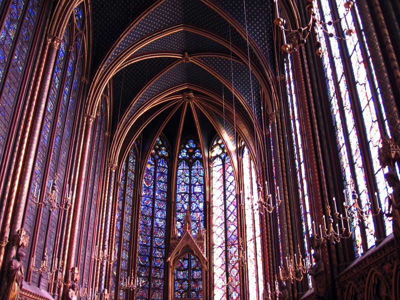 Breathtaking Stained Glass At Sainte Chappelle